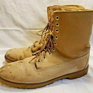 Timberland Classic Premium Wheat Nubuck Work Boots